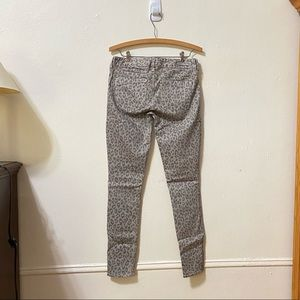 Express Jeans - Express Gray Leopard Print Jeans